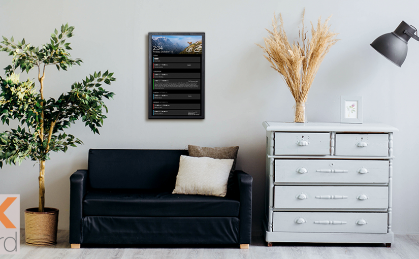 Diy Wall Display Dakboard