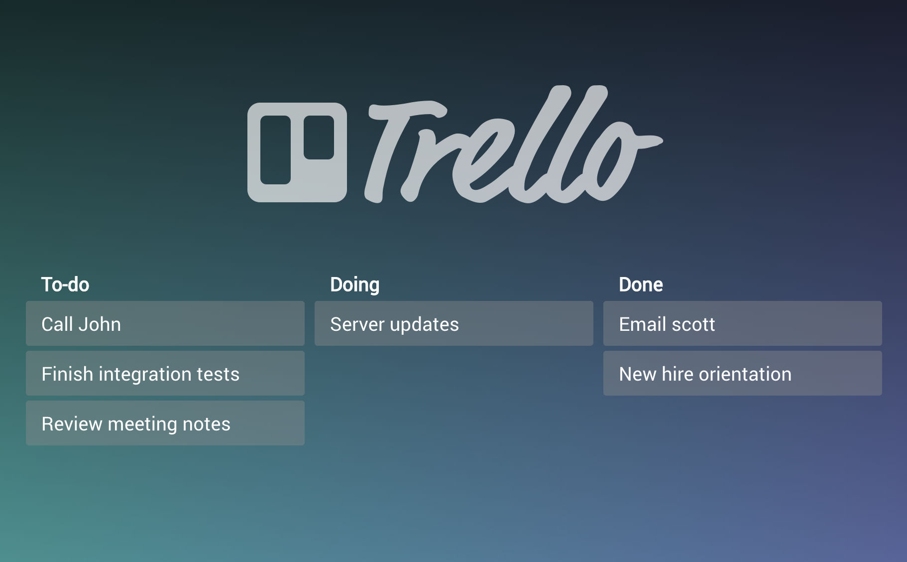 Trello Integration Added!