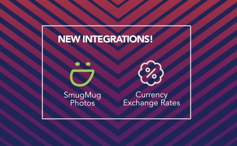 SmugMug Photos, Currency Exchange Rates and More!