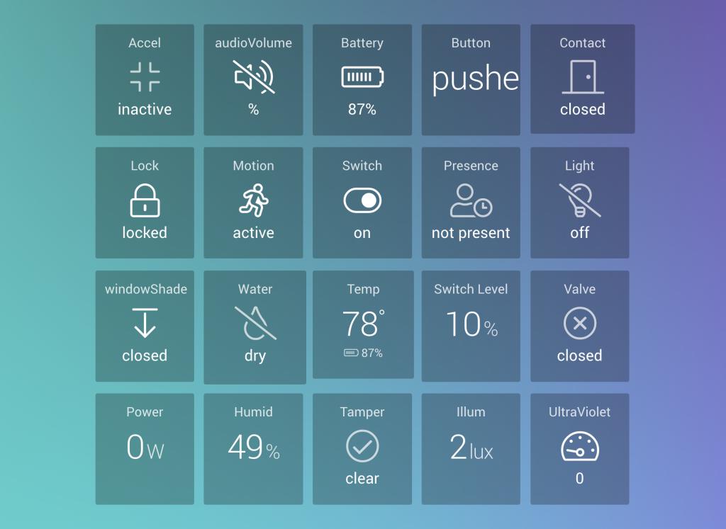 Add Your SmartThings Devices to DAKboard! – DAKboard