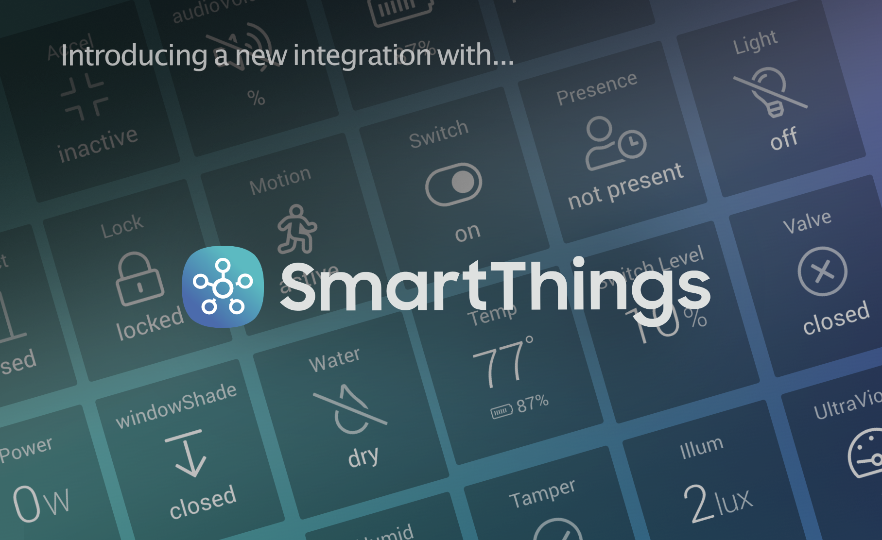 Add Your SmartThings Devices to DAKboard!